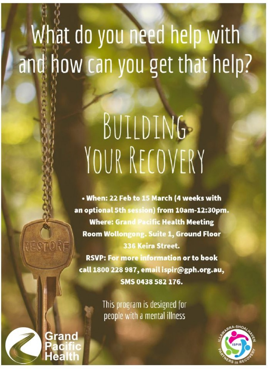 Building Your Recovery final pic