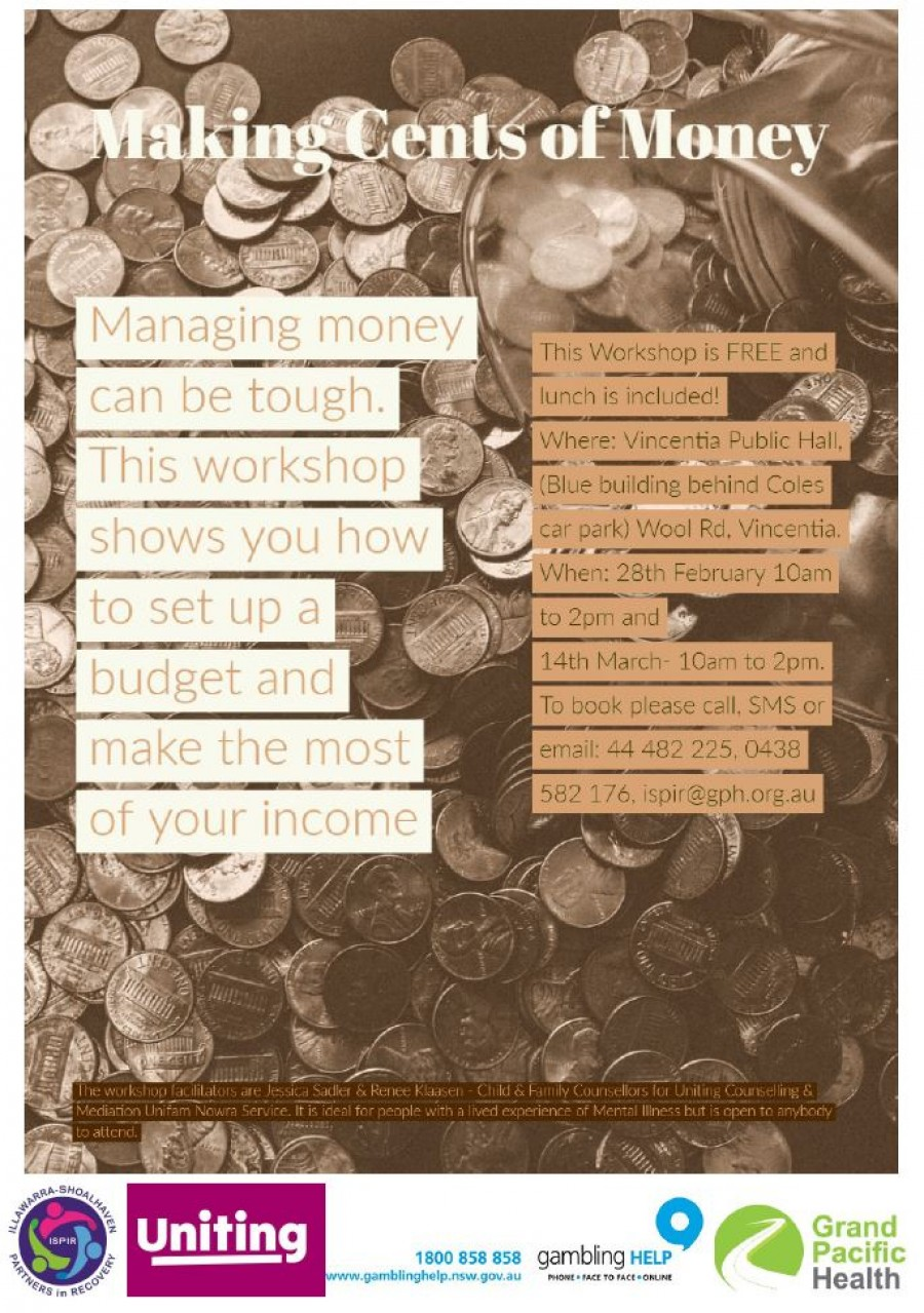 making cents of money final flyer photo