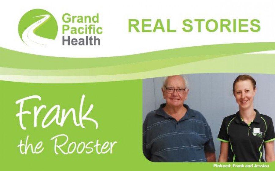 GPH Real Stories Frank the Rooster header pic